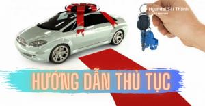 hướng dẫn thủ tục mua xe